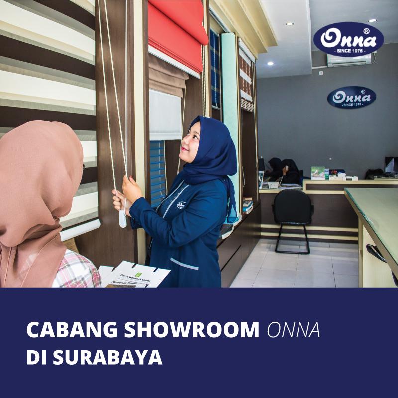Cabang Showroom Onna di Surabaya