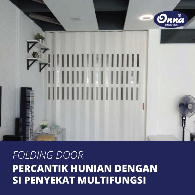 Percantik Hunian Anda dengan Folding Door, Si Penyekat Ruangan Multifungsi