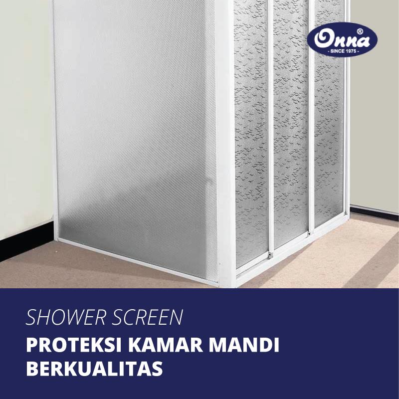 Proteksi Kamar Mandi Berkualitas dengan Shower Screen untuk Hunian Anda