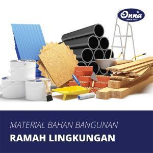 Material Bahan Bangunan Ramah Lingkungan