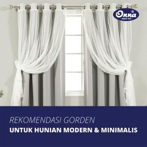 Rekomendasi Gorden untuk Hunian Modern Minimalis