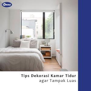 Tips Dekorasi Kamar Tidur agar Tampak Luas