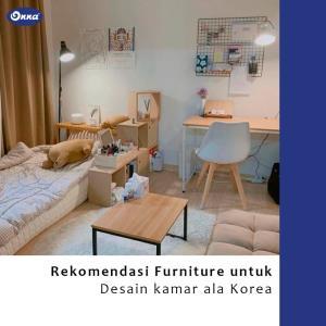 Rekomendasi Furniture untuk Desain Kamar Ala Drama Korea