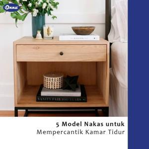 5 Model Nakas untuk Mempercantik Kamar Tidur