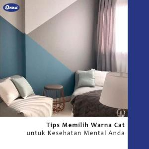 Tips memilih Warna Cat untuk Kesehatan Mental Anda